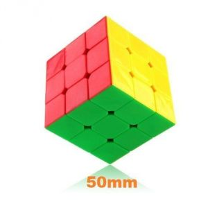 Dayan 50mm Zhanchi 3 X 3 6 Color Stickerless Small 5cm Speed Cube Puzzle