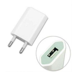 2 In 1 iPhone USB Adapter Charger & Data Cable