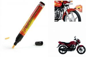 Spidy Moto Auto Smart Coat Paint Scratch Repair Remover Touch Up Pen For Honda Cb Shine