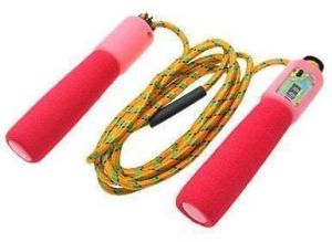 Skipping Jump Rope With Counter Number Fitness