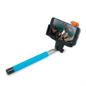 Spider Designs Selfie Stick (wireless Bluetooth ) Blue