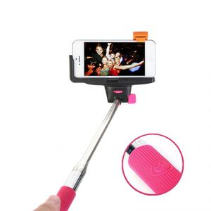Spider Designs Selfie Stick (wireless Bluetooth ) Pink