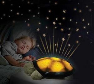 Turtle Night Light Star LED Child Sleeping Project