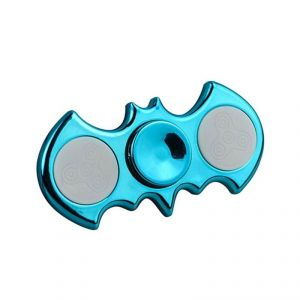 Batman Metallic Electroplating LED Fidget Spinner Adhd Edc