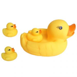 Futaba Duck Family Baby Bath Toy - Pack Of 4