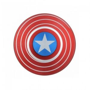 Captain America Shield Fidget Spinner Hand Spinner For Autism And Adhd Kids/adult Funny Anti Stress Toy Mi