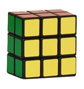 Lanlan3x3x2 Speed Brain Teaser Cube Puzzle, Black