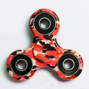 Hand Spinner Fidget Edc Tri Toy Camouflage Army Girl
