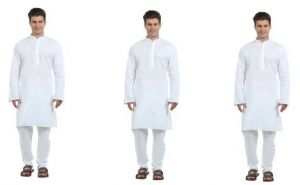 Korel 3 Classic White Kurta Set For Men
