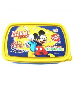Ski Homeware Yellow Kids Lunch Box
