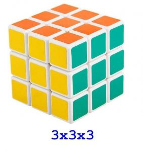 Rubik Cube Puzzles 3 X 3 X 3 Blister Pack