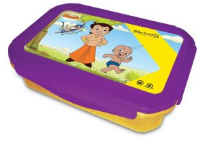 Super Lock & Seal Lunch Box Purple / Yellow