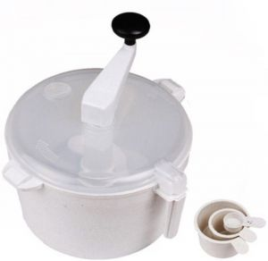 Ebig Shopping Detachable Plastic Dough Maker White