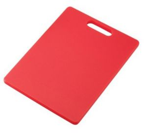 Ebig Shopping Red Regular Polypropylene Cutting Board