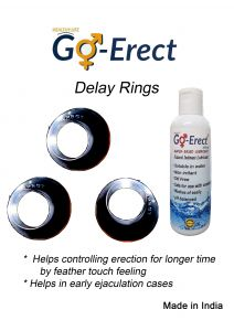 Delay Ring And Plain Lube 100 Ml Combo Deal