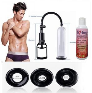 Ed Vacuum Therapy Penis Enlargement Pump With 4 Sleeves