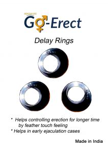 Go-erect Delay Ring ( 3 Different Sizes )