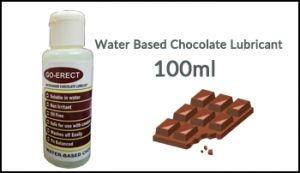Go Erect Water Based Chocolate Lubricant 100ml