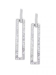 Rubans Fashion Silver Drop Earrings (code - R100823)