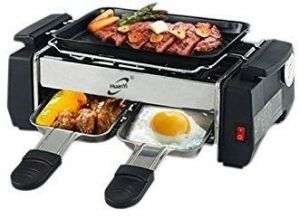 Barbeques & grills - Kitchen Indoor Nonstick Electric Cooker Raclette Grills Bbq Barbecue Inside