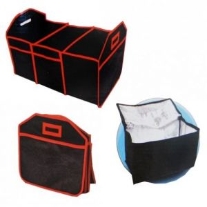 Ultimate 3pc Car Organizer-thermal Cooler Bag,boot Organizer,car Seat Organiser