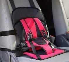 Home Basics Multi Function Kids Safety Travel Car Cushion Seat