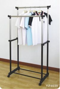 Home Decor ,Kitchen  - Unique Cartz Premium Double Pole Telescopic Cloth Drying Stand Rack Upto 25 KG