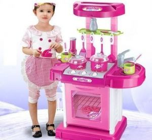 Unique Cartz Kids Kitchen Set Toy With Light And Sound