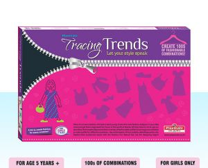 Playmate Tracing Trends - Let Your Style Speak. Age 5 To 8 Years +