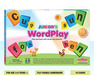 Playmate Wordplay Junior - Play And Learn With Words And Pictures