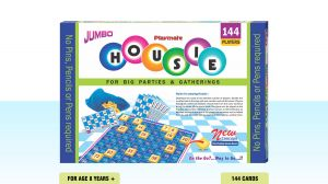 Playmate Housie Jumbo 144 Cards Game Board Puzzle Multi Age & Player