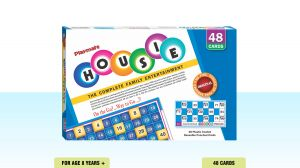 Playmate Housie - 48 Cards Game Board Puzzle Multi Age & Player
