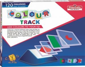 Playmate Colour Track - An Iq Building Board Puzzle Game Age 4 To 8 Years+