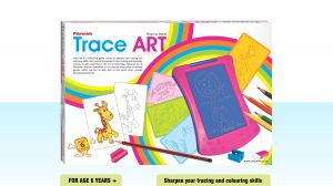 Playmate Trace Art - Sharpen Your Tracing Skills. Age 5 To 8 Years +