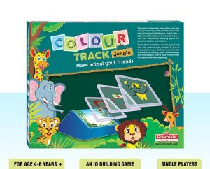 Playmate Colour Track Jungle - Iq Building Board Puzzle Game. Age 5 To 8 Years +