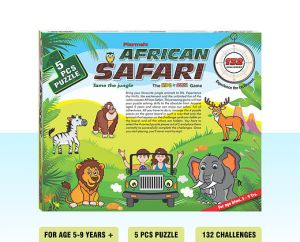Playmate African Safari- Hide N Seek Jungle Game. Age 5 To 8 Years +