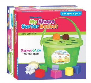Playmate My Shape Sorter Basket - A Basket Of Joy. Age 2 To 4 Years+