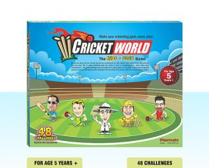 Playmate Hide N Seek Cricket World Theme Puzzle. Age 5 To 8 Years +