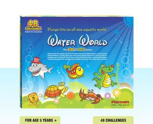 Playmate Hide N Seek Water World Theme Puzzle. Age 5 To 8 Years +