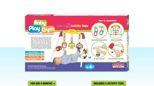 Playmate Baby Play Gym - Fun Workout For Your Baby. Age 3 Months+