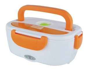 Home Basics Portable Electric Heatable Lunch Box With Spoon