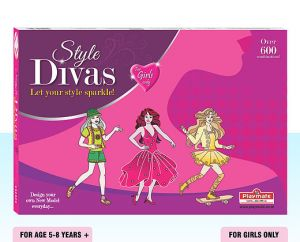 Playmate Style Divas - Let Your Stlye Sparkle!, Age 5 To 8 Years+