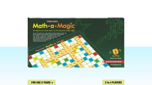 Playmate Math-a-magic - Mathematics Board Puzzle Game. Age 8 Years + / 2-4 Players