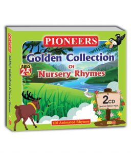 Special Movie Packs (English) - Branded PIONEERS - GOLDEN COLLECTION OF NURSERY RHYMES 2 CD's 100 Animated Rhymes Age 2 to 5 Years