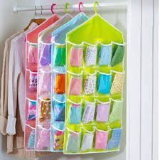 16 Pockets Clear Over Door Hanging Bag Shoe Rack Hanger Storage Tidy Organizer Fashion