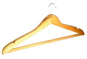 Home Basics Wooden Hangers - Pack Of 12