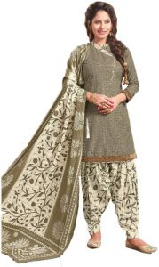 Elegant Cotton Patiyala Unstitched Dress Material Salwar Suit (code-bal813)