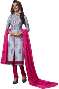 Elegant Cotton Designer Printed Dress Material Salwar Suit (Code-BZ2035)