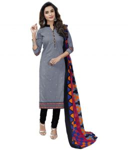 Elegant Cotton Designer Printed Dress Material Salwar Suit (code-gc8010)