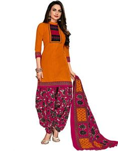 Elegant Cotton Designer Printed Dress Material Salwar Suit (code-pr1117)